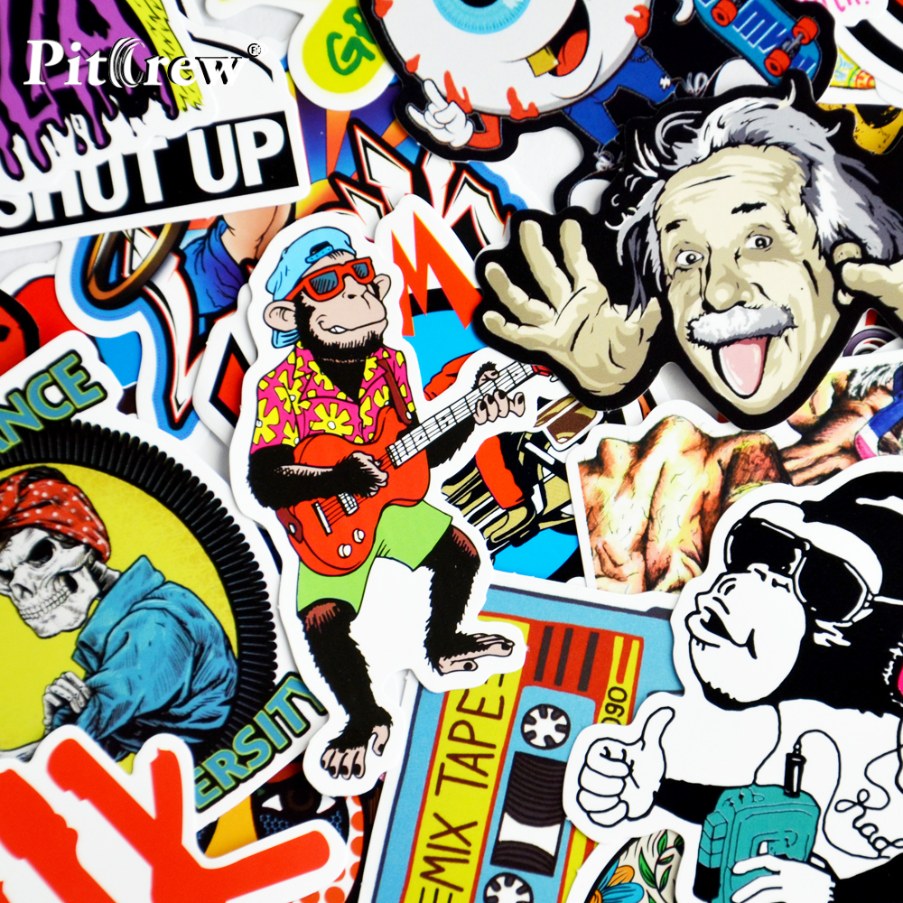 2019 mobil styling stiker bom stiker skateboard graffiti laptop stiker sepeda motor tas aksesoris vinyl decal di mobil stiker dari mobil sepeda motor