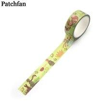Patchfan Маленький принц мультфильм милый забавный DIY Скрапбукинг дети клейкая бумага Васи маскирующая Лента Печатный шаблон наклейки a80