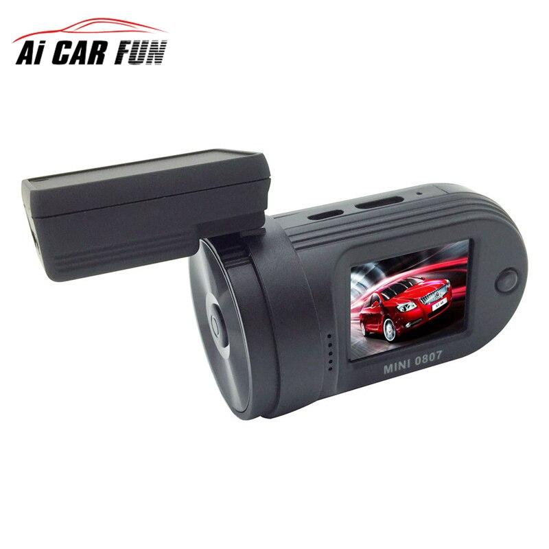 Mini 0807 Car DVR Camera DashCam Mini0807 G-sensor(Upgraded 0805) Amba A7LA50Chip+Parking Monitor+GPS+Dual CardsRecording+OBD-II
