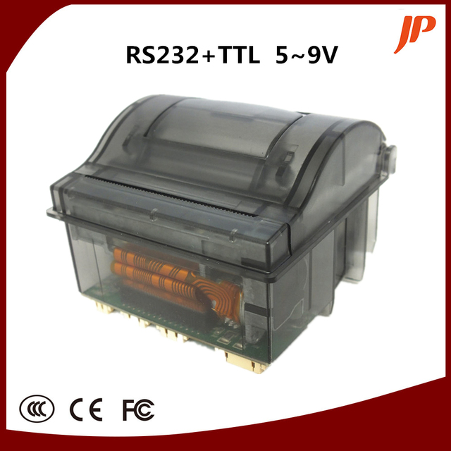 58mm thermal Printer Series supports RS232/TTL Interface