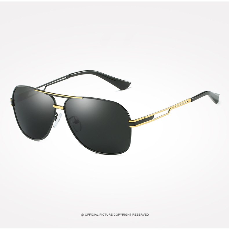 Aabbye Для мужчин поляризованных солнцезащитных очков брендовые дизайнерские Тенденции моды очки классные черные путешествия высокое качест...