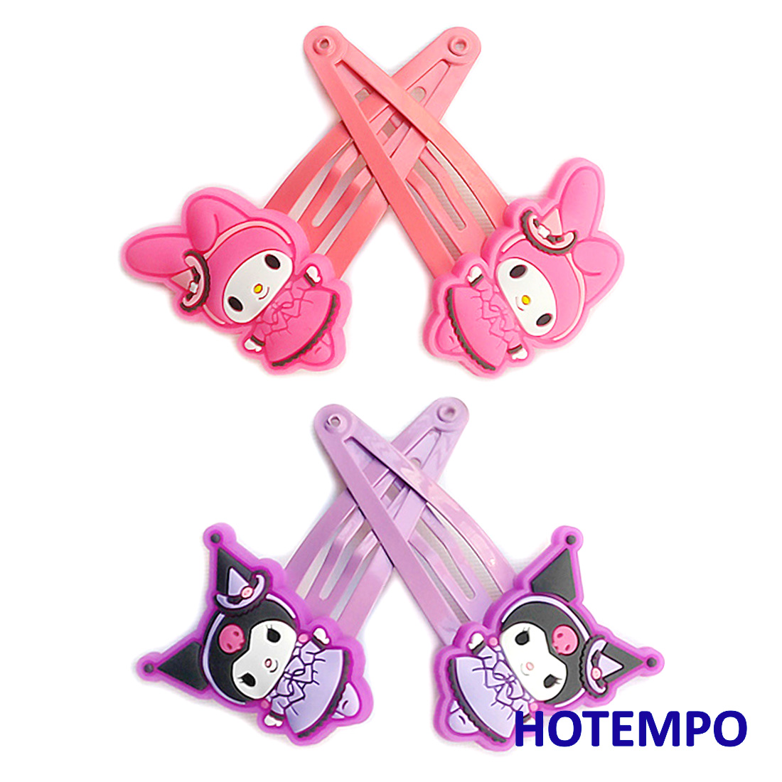 japan-cute-cartoon-gothic-lolita-kuromi-melody-girls-baby-kawaii-hair-accessories-hairpins-hairclip-elastic-hairbands-for-gift