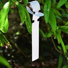 100 шт. 2x20 см Водонепроницаемый Пластик подвесные бирки для растений садоводства завод цветок маркерная наклейка