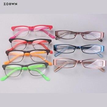 Mix wholesale kids acetate Retro eyeglasses Men Women brand Designer glasses Male Female Optical Glasses Frame Eyewear Oculos
