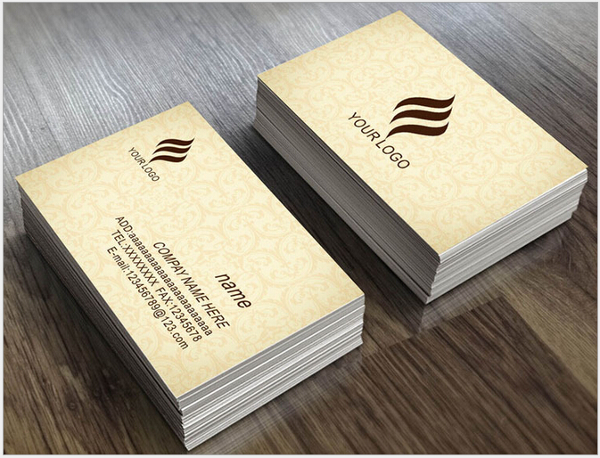 Business cards with two names arts arts free shipping one side two sides coated paper contact cards design business cards with two names colourmoves