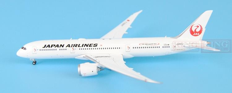 JC Wings XX4393 B787-9 Nikko seckill: JA861J 1:400 commercial jetliners plane model hobby