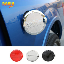 цены HANGUP ABS Car Exterior Door Fuel Tank Cover Protect Trim Decoration Stickers For Ford F150 2015 Up Car Styling