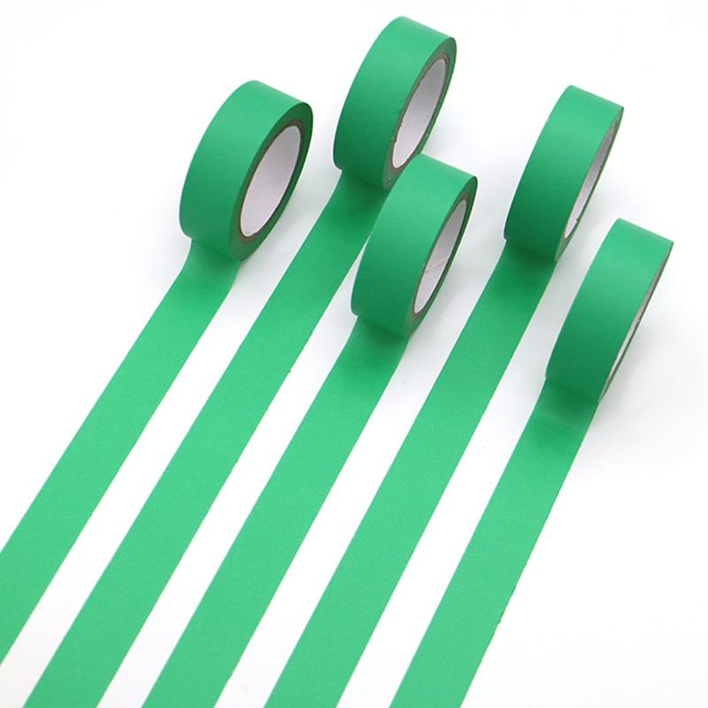 1 PCS Refreshing Kawaii Candy Mint Green Color Washi Tape Pattern Masking Tape Decorative Scrapbooking DIY Office Adhesive Tape