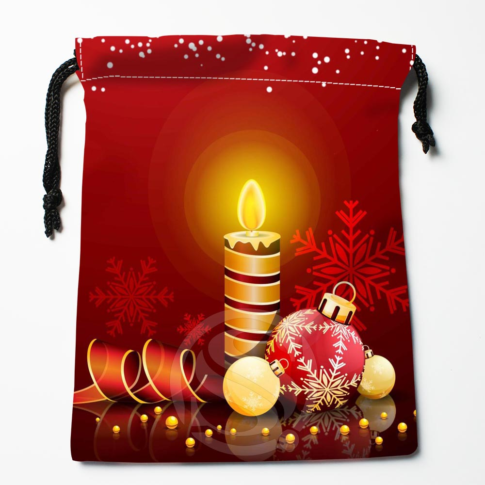 TF&59 New Christmas Gift #31 Custom Printed Receive Bag Bag Compression Type Drawstring Bags Size 18X22cm &812#59