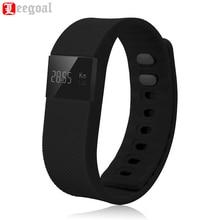 Leegoal TW64 фитнес-трекер Bluetooth SmartBand Спорт Браслет Смарт Группа Браслет Шагомер для iPhone IOS телефона Android