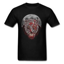 Newest Super Discount T-Shirts For Men Zombie Wolf 3D Tshirt Comic Fashion Sleeved Tee Shirt Pure Cotton Summer Winter Tshirts