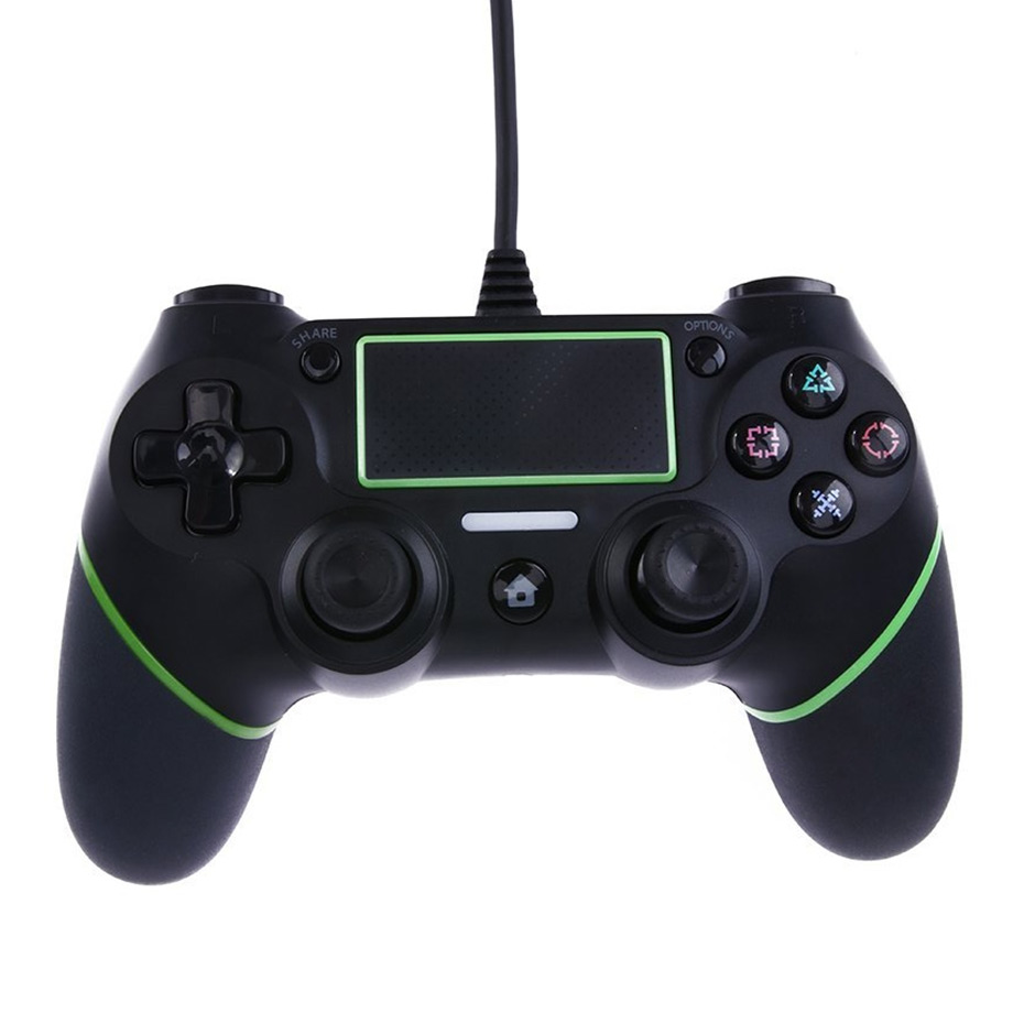 Game Controllers For Ps4 : Usb wired controllers gamepads for ps game controller