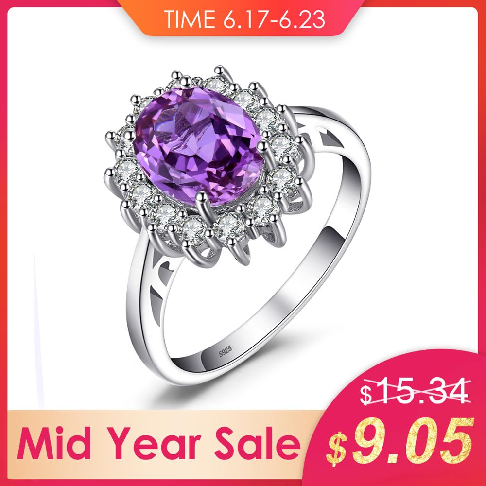 JewelryPalace Princess Diana William Kate Middletons 3.2ct Created Alexandrite Sapphire Ring 925 Sterling Silver Fine JewelryJewelryPalace Princess Diana William Kate Middletons 3.2ct Created Alexandrite Sapphire Ring 925 Sterling Silver Fine Jewelry