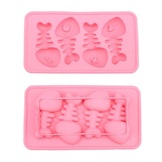 Fish Bone Shaped Ice Cube silicone kitchen utensils