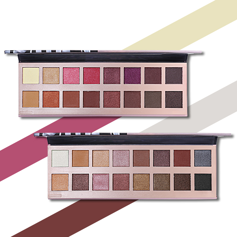16 Colors Eyeshadow Palette Natural Nude Shimmer Matte Eye Shadow Makeup Set Smooth Powder Pigment Earth Color Beauty Cosmetic popfeel professional women 95 colors eyeshadow matte pigment shimmer natural eye shadow cosmetic makeup beauty tools palette set