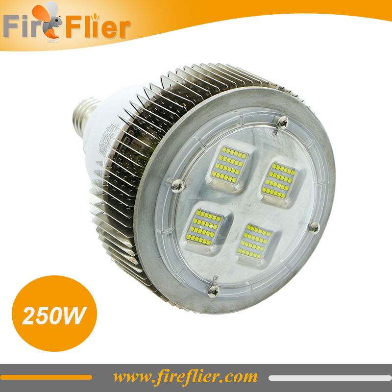 4 pièces 50 W 100 W E27 E40 a mené l'ampoule de modification 150 W 200 W 300 W a mené la Base élevée 400 W d'ampoule de baie E40 pour l'éclairage d'usine ou d'entrepôt