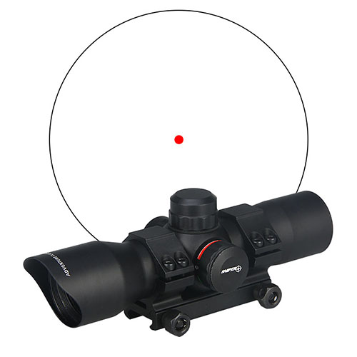 ФОТО 1x34MM Sight Hunting Accessories Riflescope Gun Monocular Tactical Optical Rifle Scope