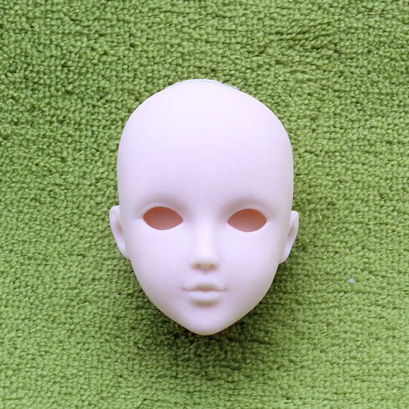 Novo 1/6 DIY Maquiagem Nu Boneca Careca Cabeça Acessórios para 30 centímetros Brinquedos Bonecas Nuas Nu Make Up Cabeça Careca para Meninas Presentes