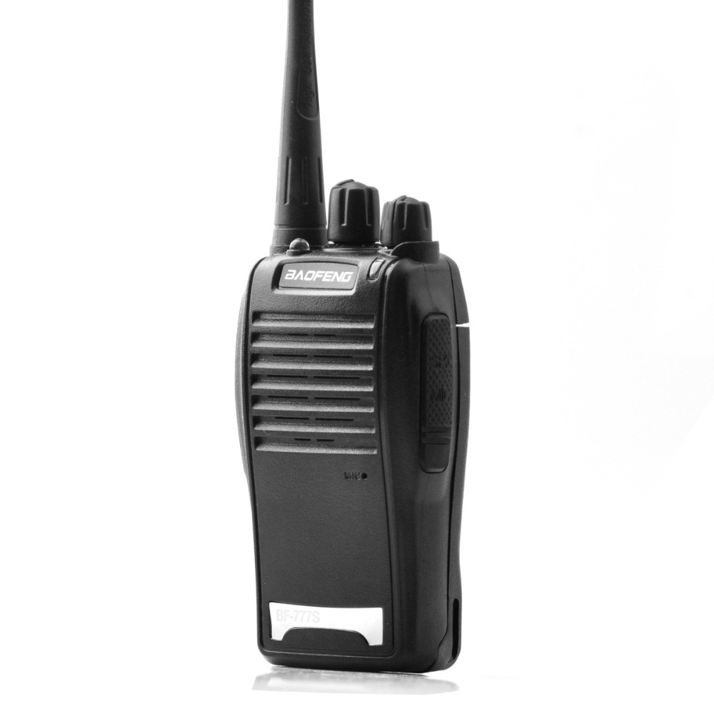 Image 2 - Baofeng BF 777S Walkie Talkie 16CH Practical Two Way Radio UHF 400 470MHZ Portable Ham Radio 5W Flashlight Programmable CB Radio-in Walkie Talkie from Cellphones & Telecommunications