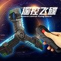Nuevos productos de La Novedad rc helicóptero teledirigido ufo Quadcopter Drone cuerpo de espuma anti-roto con luz divertido juguete de Navidad regalo