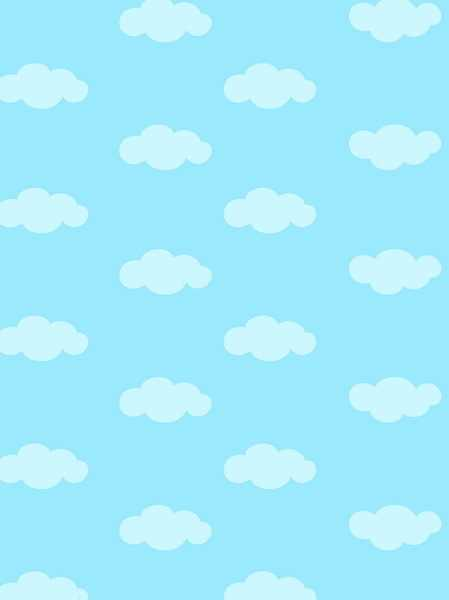 10x10ft Solid White Clouds Light Blue Sky Summer Wedding Custom Photography Studio Backdrops Backgrounds Vinyl 3x3m