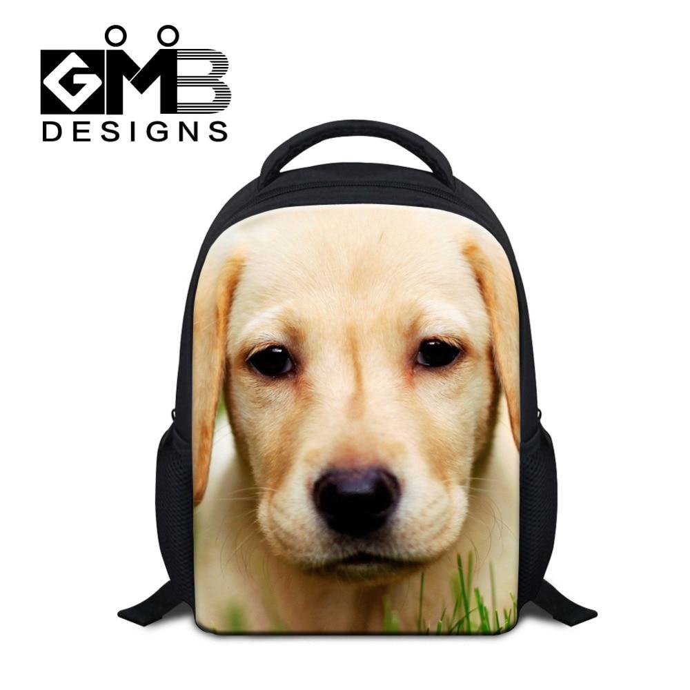Dispalang 12Inch Animal Mini Children School Bag Dog Cat Printing Kids Backpack Kindergarten Schoolbag Book Bag Mochila Infantil