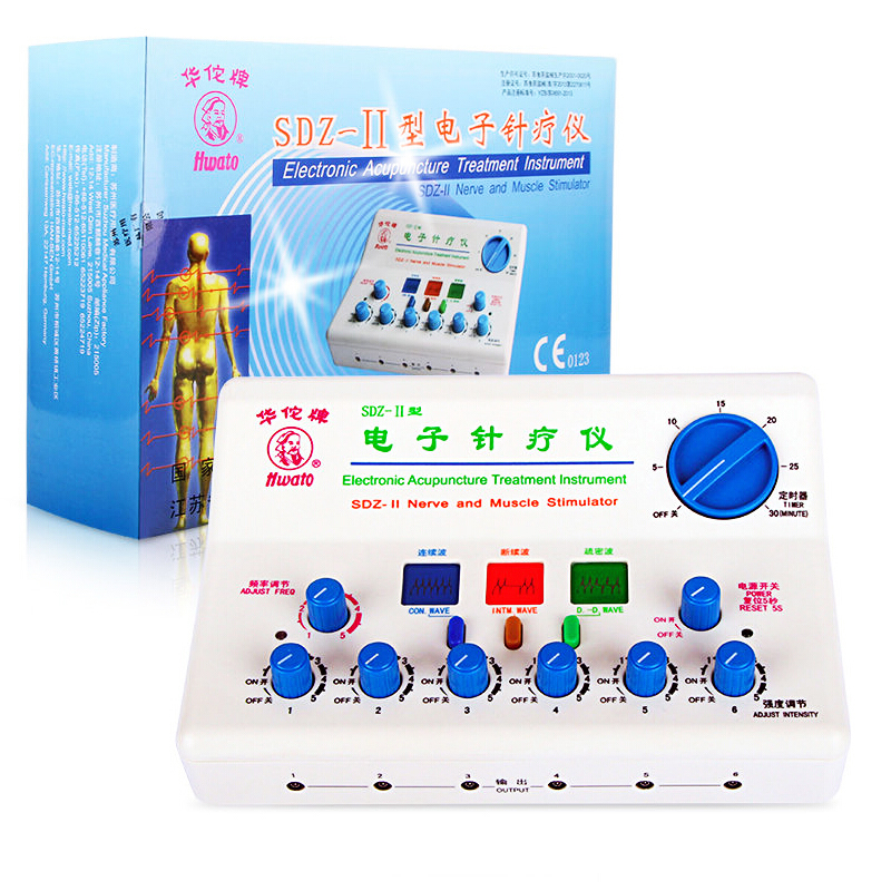 Electronic acupuncutre treatment instrument SDZ-II Nerve and muscle stimulator acupuncture physiotherapy Tools Y hwato computer random pulse acupuncture treatment instrument smy 10a nerve and muscle stimulator tens 10 channels output ce appr