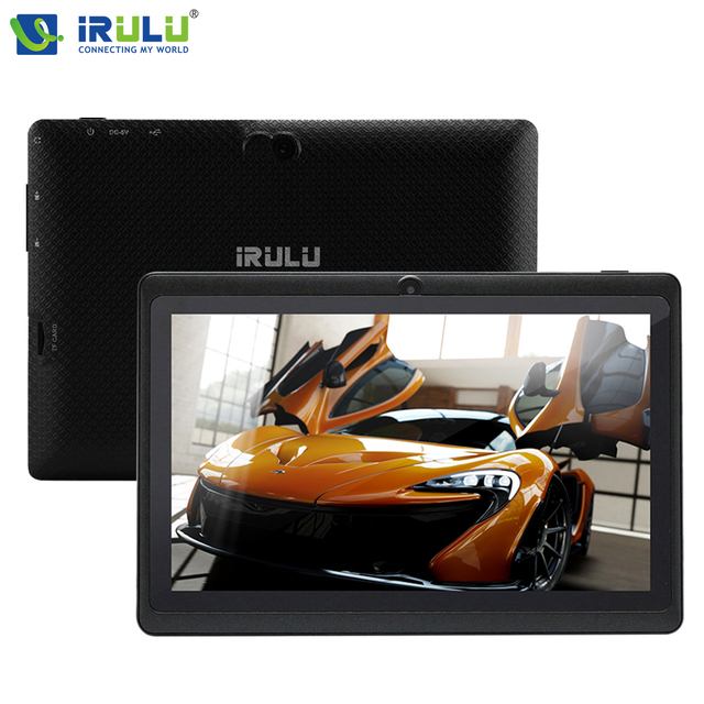 Expro x1 7 ''* 800 ips de la tableta irulu android 4.4 1g/16g Quad Core de la Tableta de Doble Cámara Bluetooth WiFi Negro w/Blanco RU Keyaboard