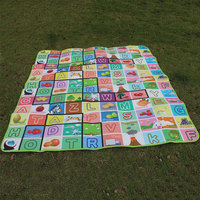 Baby Crawl Play Game Camping Picnic Letter Alphabet Floor Rug Mat 180x200CM