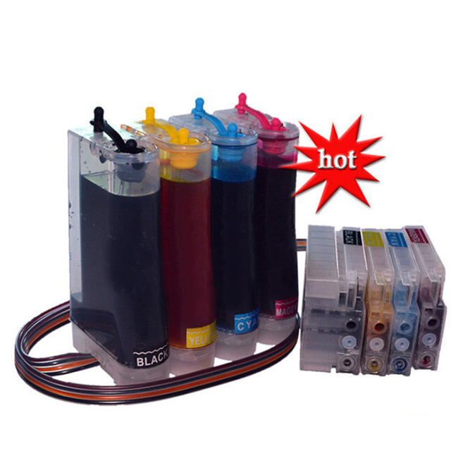 Full 400ML Ink CISS Replacement for HP 711 Ink Cartridges for HP DesignJet T520 T120 For HP T120 T520 Printer