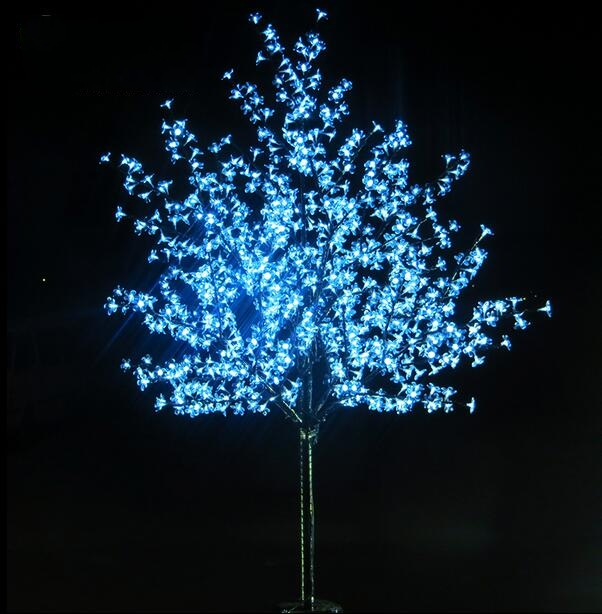 2pcs/lot1.8M LED Crystal Cherry Blossom Tree Lights Christmas New year Luminaria Decorative Tree Lamp Landscape Outdoor Lighting