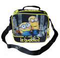 Despicable Me Minion Lunch Bag for Kids School Lunch Box Bag Children Cartoon Lunchbox Lunchbag Picnic Food Bags for Boys Girls