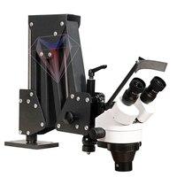 Гибкий микроскоп зума руки для установки ремонта камня ювелирных изделий диаманта