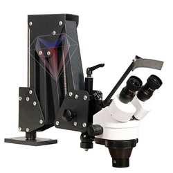 Flexibele Arm Zoom Microscoop Voor Sieraden Stone Diamond Repareren Instelling