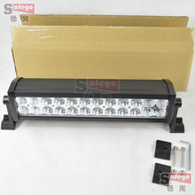 """1pcs 13"""" 13.5 inch 72w car truck tractor combo 4X4 driving working led bar 72W led light bar 72w led work light lamp"""