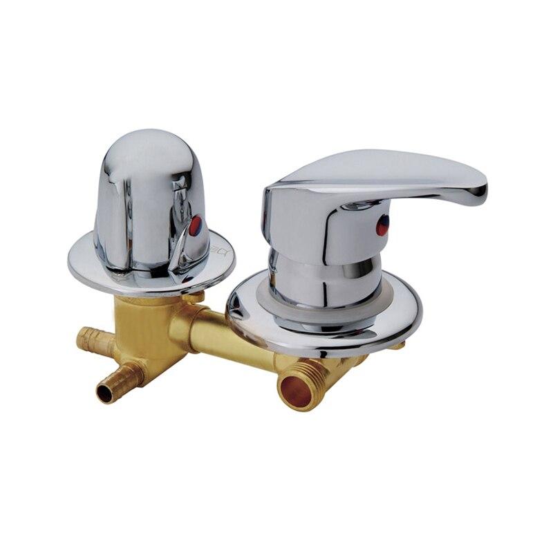 Robinet de sortie mural 2/3/4/5 voies robinets de douche en laiton vis ou intubation cuivre cabine de douche mitigeur de douche