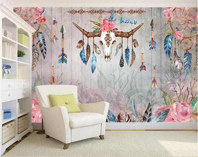 3d papier peint personnalisé photo non tissé murale wall sticker ...