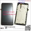 4.7 ''для XiaoMi Hongmi red rice Redmi 2 2A ЖК-Экран С Сенсорным Экраном дигитайзер с рамкой, Test ok + Код Отслеживания 1280x720