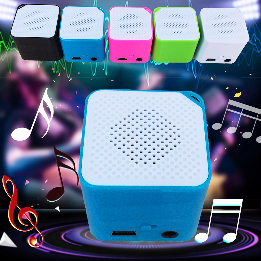 Portable Mini MP3 Music Player Support 16G TF Card Speaker Campaign MP3 Music Player Built-in Speaker