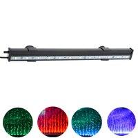 4.1 W 31 cm 12 LEDs Bolha Aquário Luz 15 Cores RGB IP68 Submersível Iluminação Do Aquário Do Tanque de Peixes de Controle Remoto LEVOU Barra de Luz