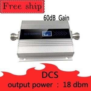 Image 3 - Sıcak satış 4G LTE DCS 1800mhz hücresel tekrarlayıcı GSM 1800 60dB kazanç cep telefon güçlendirici GSM 2G 4G amplificador band 3