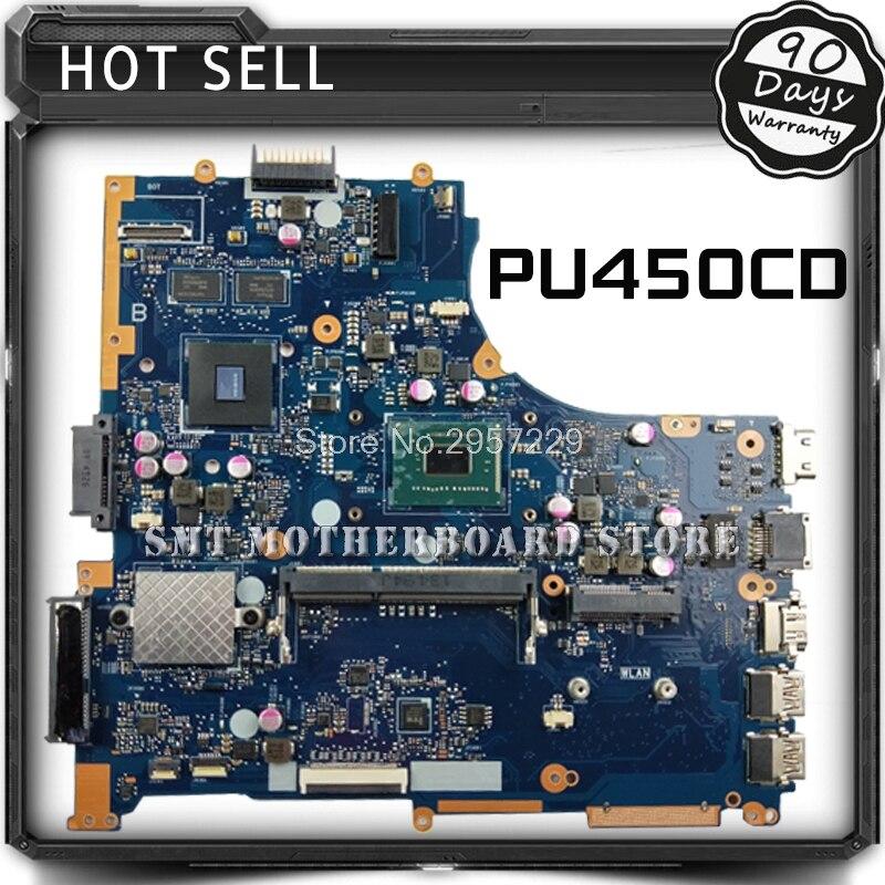For ASUS PU450C PU450CD PU450 REV2.0 Laptop Motherboard System Board Main Board Logic Board S-6