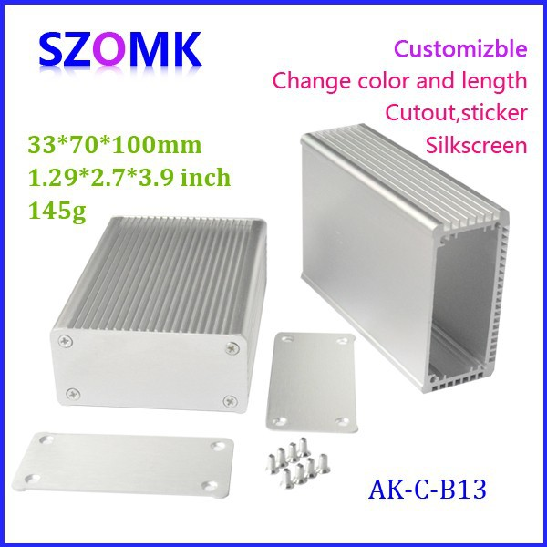 Excellent electromagnetic Aluminum Box Enclosure Case 33 70 100MM 1 3 2 76 3 94inch 10