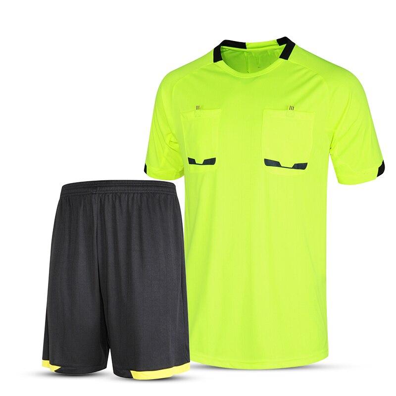 Camisas de futebol 2017 homens árbitro árbitro juiz treino tailândia  uniformes de futebol curtas de futebol profissional kit uniforme  personalizado em ... 28e6a5cf1e9e3