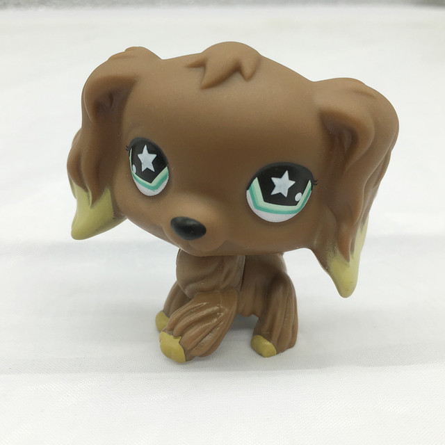 Pet shop lps toy action standing collection collection short hair 41 powder cat tiger cat tiger big dad dog dachshund lps