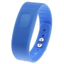 YCYS-USB Bluetooth Llamada Entrante Vibración de Alerta de Alarma anti-perdida Band Pulsera de iones de litio polímero de litio con indicador LED azul