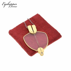 Image 4 - NR003 Eyekepper Folding Reading Glasses Pendant Necklace Mini Readers Eyeglasses