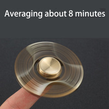 Rainbow Hand Spinners golden snitch Fidget Spinner gold heart Finger Spinner Brass fidger figit figet Spiner Relieve Stress toys