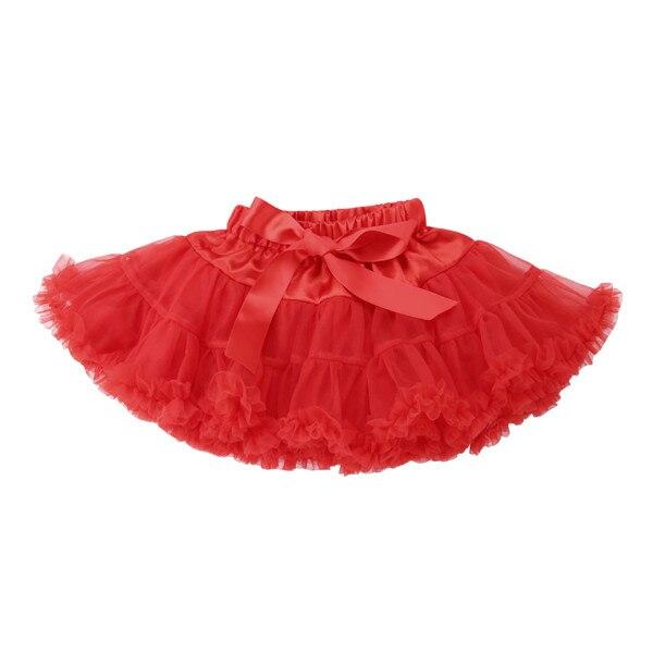 PUDCOCO/Милая юбка-пачка принцессы для маленьких девочек, балетная пышная многослойная юбка-американка из тюля вечерние танцевальные От 0 до 5 лет - Цвет: 4