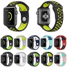 hot deal buy brand sport silicone band strap for apple watch nike 42mm 38mm bracelet wrist band watch watchband for iwatch apple strap 3/2/1
